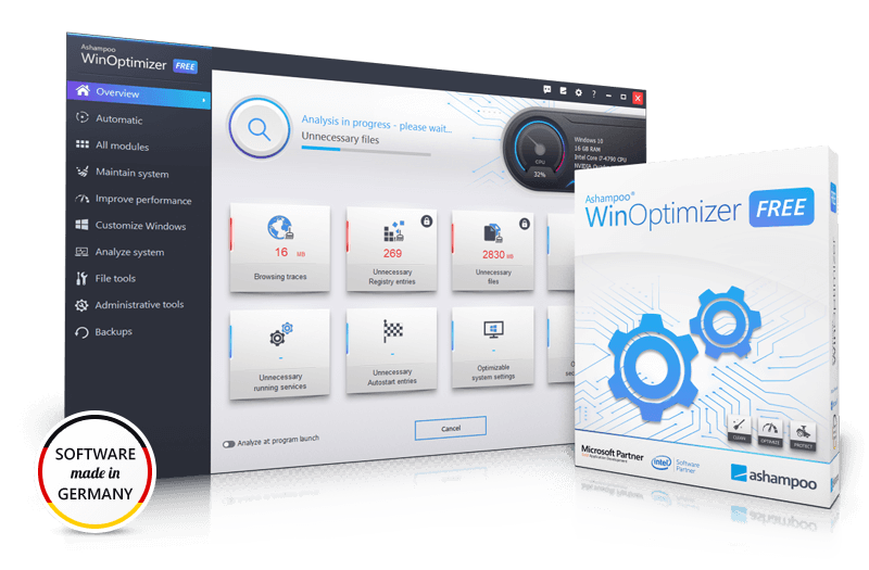 Ashampoo Winoptimizer v18.00.10 Crack + Activation Key [Updated]