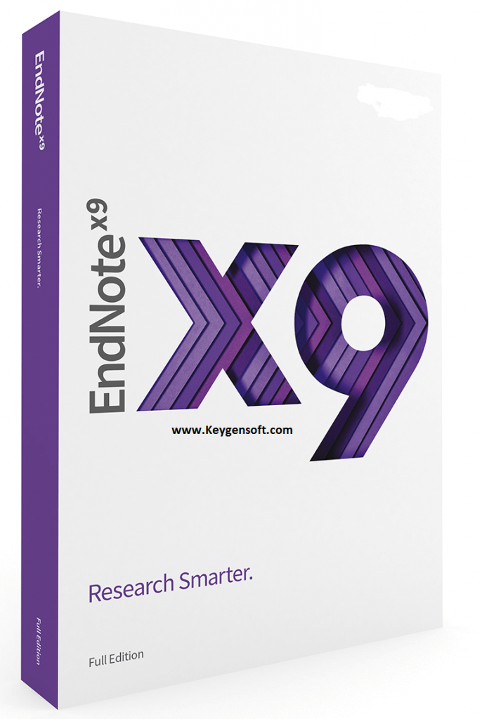 EndNote Crack X9.3.2 + Activation Key [Updated] Free Download