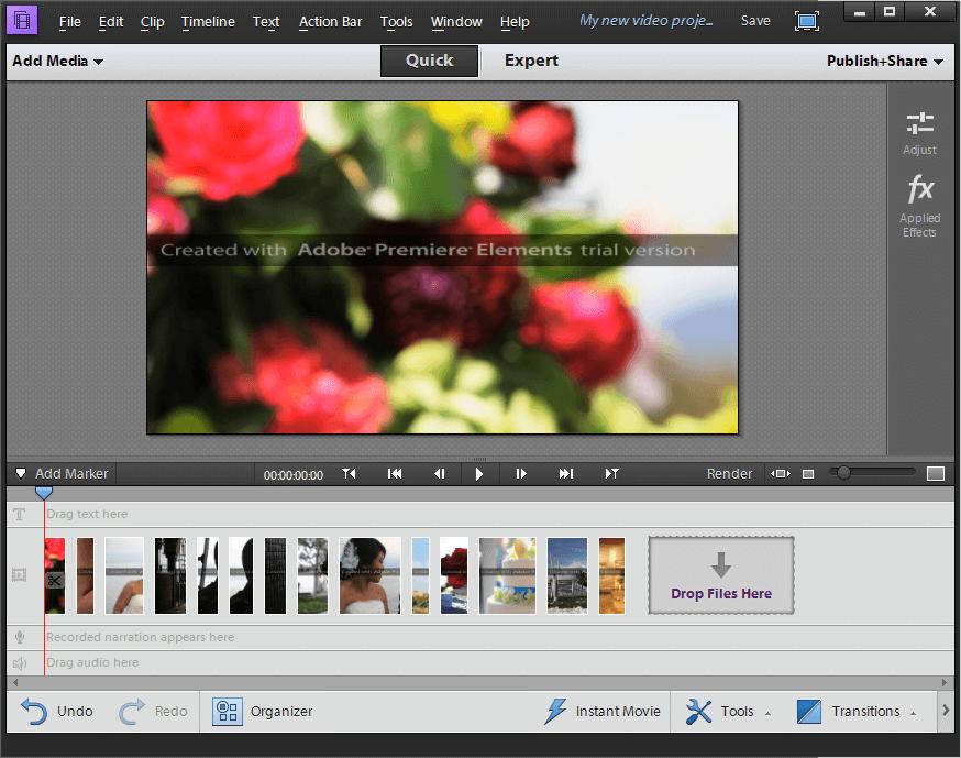 Adobe Premiere Element Crack