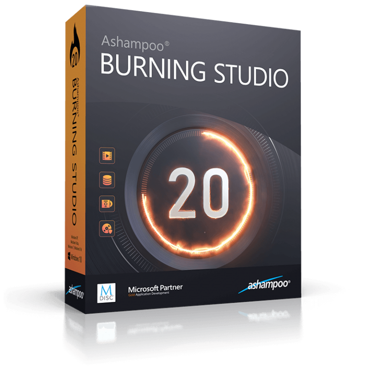 Ashampoo Burning Studio Crack 21.6.0.60 + Serial Key [Updated]