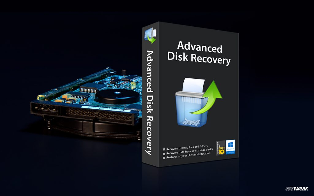 Systweak Advanced Disk Recovery Crack 2.7.1200.18366 [Latest] 2021