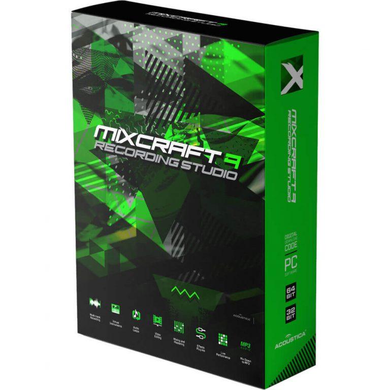 Mixcraft Crack v9 + Serial Key [2021]