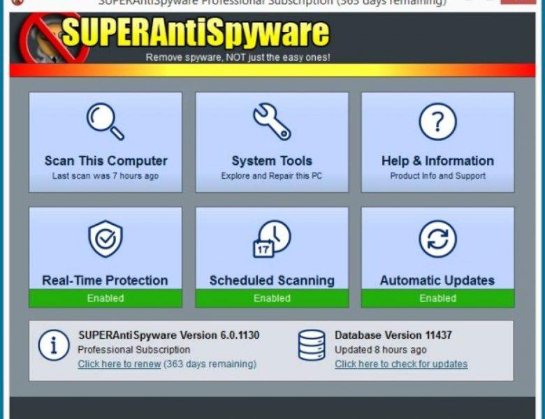 SUPERAntiSpyware Professional Crack 10.0.1216 + Key Latest [2021]