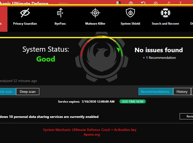 System Mechanic Ultimate Defense 20.0.0.4 Crack + Serial Key [Latest]